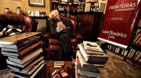 zygmunt bauman filming documentary with mango films london uk